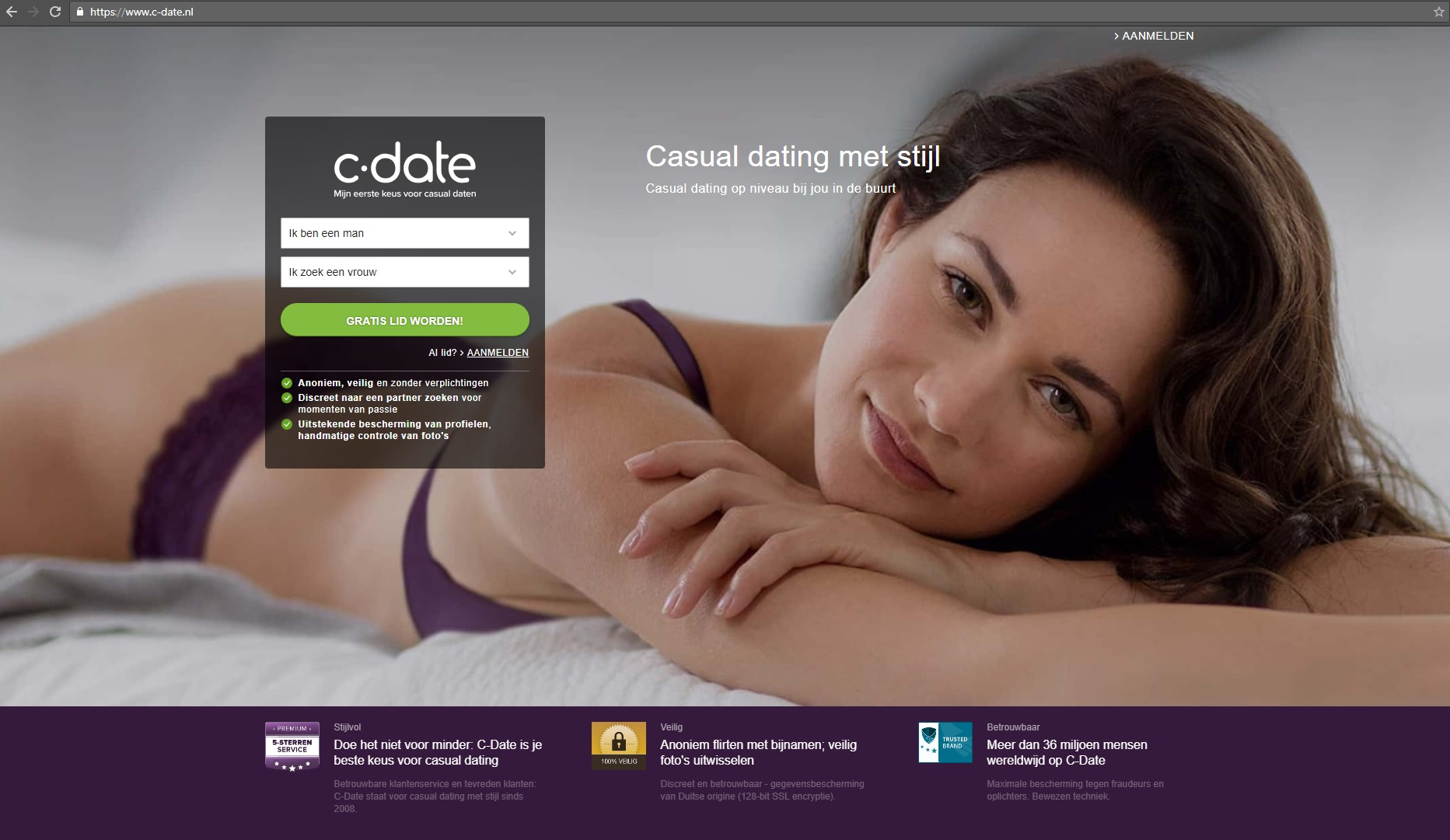 Casual Dating c-date
