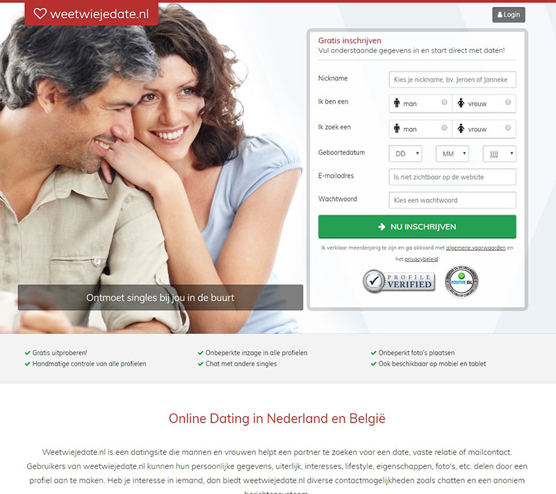 dating website oudere